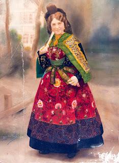 Candelaria que recibio a la infanta isabel en 1916 en Bejar