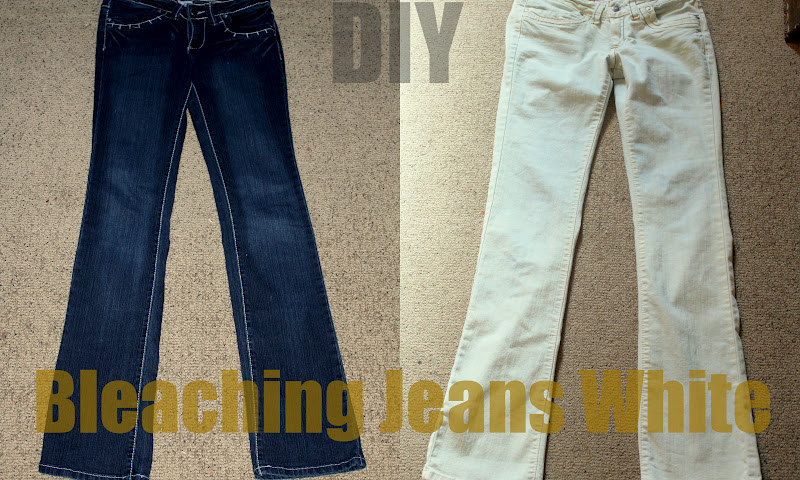 Keeping Up With Us Jones': Bleaching Jeans
