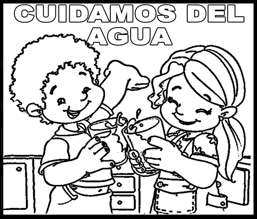 Dibujos Para Colorear Del Agua