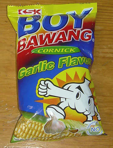 boy bawang A client of mine introduced me to the owner/proprietor of boy bawang cornicks a few days ago as i'm a fan of conrnicks.