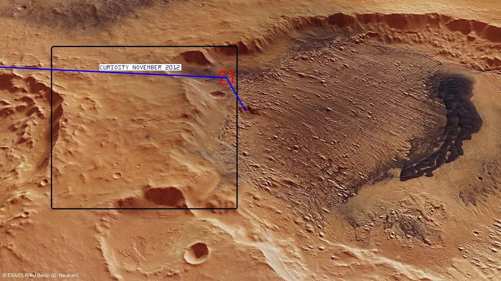 ROVER Landing Site