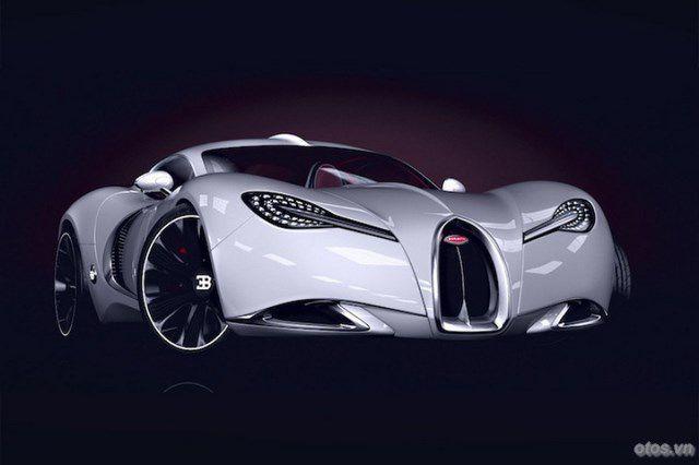 Xe Bugatti Chiron 2016 chốt ngày ra mắt