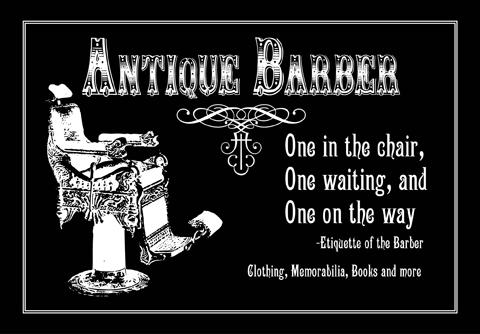 Antique Barber Equipment1