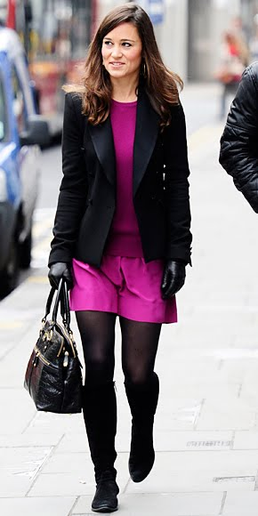Pippa Middleton in Sonia Rykiel