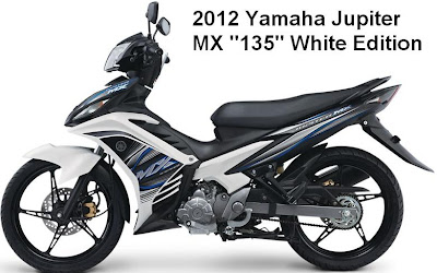 New Yamaha Jupiter MX White Colors