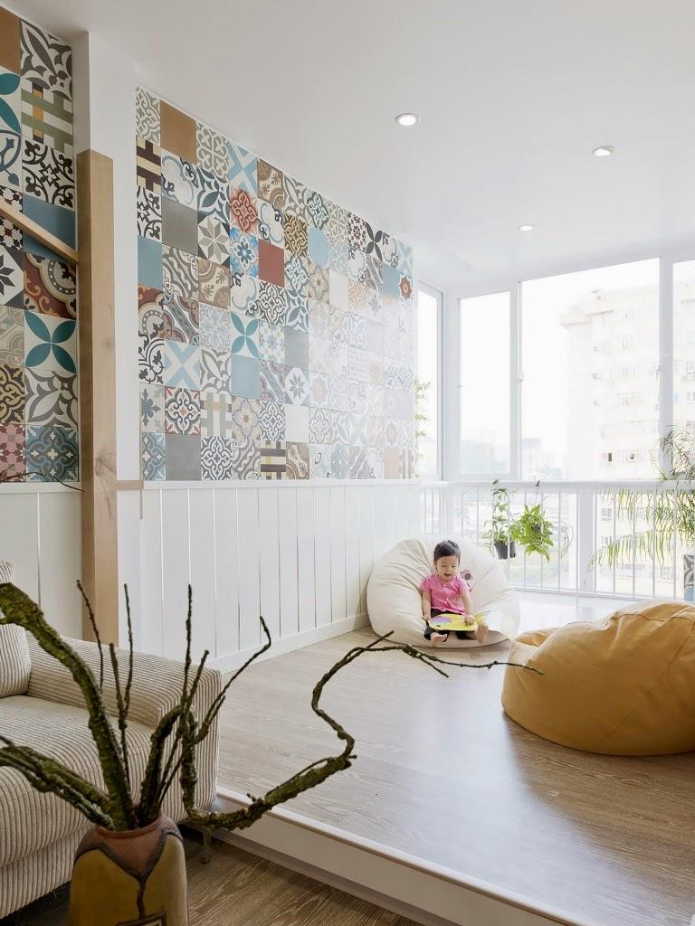 Keramik Bermotif Untuk Aksen Interior 10