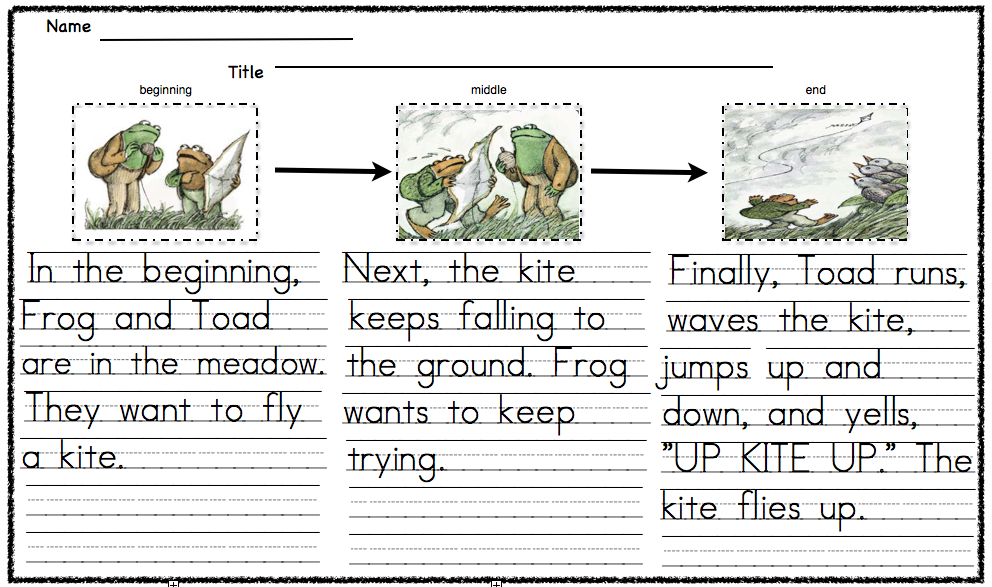 Always First Grade: Frog and Toad