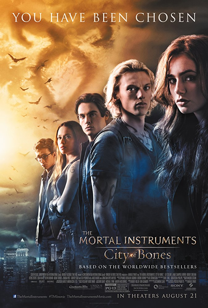 The Mortal Instruments City of Bones 2013 720p Esub BluRay  Dual Audio English Hindi GOPISAHI