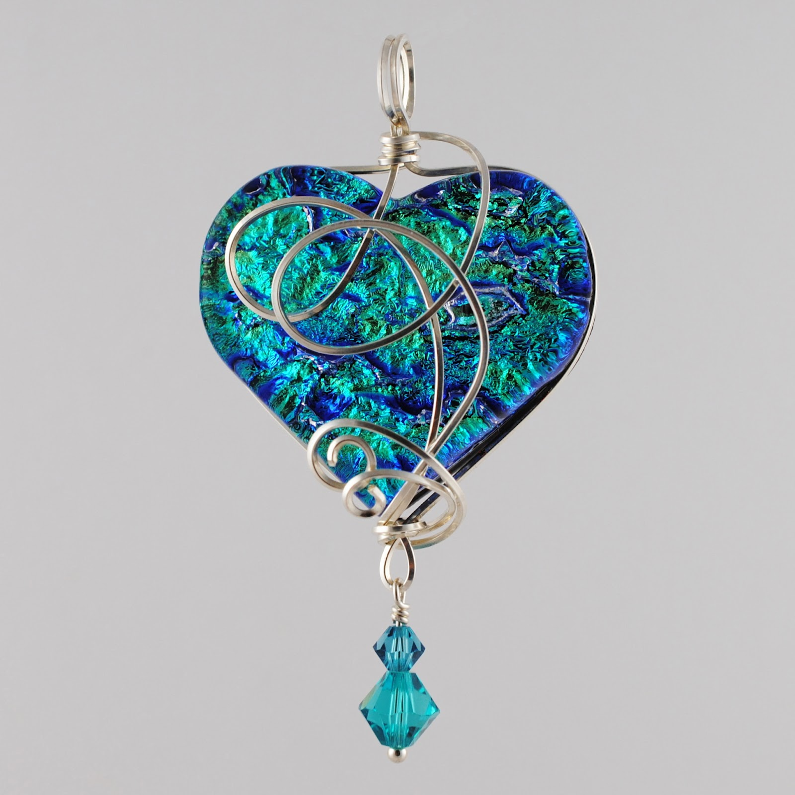 360 Fusion Glass Blog: What\'s New: Wire Wrapped Fused Glass Marquis ...