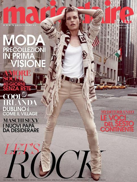 Fashion Model @ Louise Pedersen by Nagi Sakai for Marie Claire Italia, August 2015
