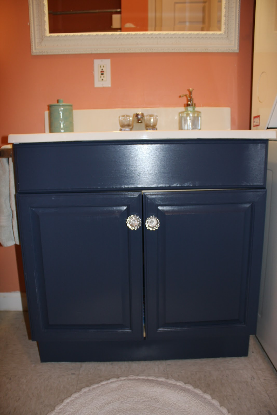 The Elegant House Painting A Laminate Bathroom Vanity