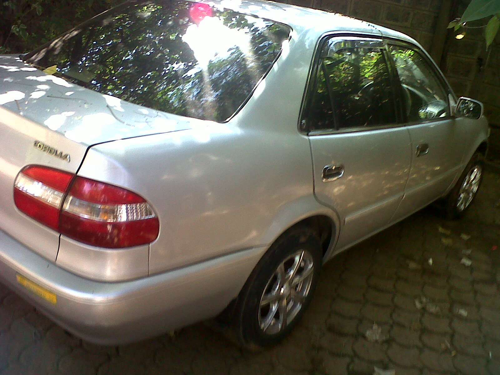 used toyota corolla 110 for sale in kenya
