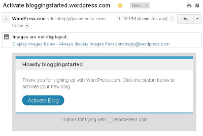 tutorial membuat blog wordpress
