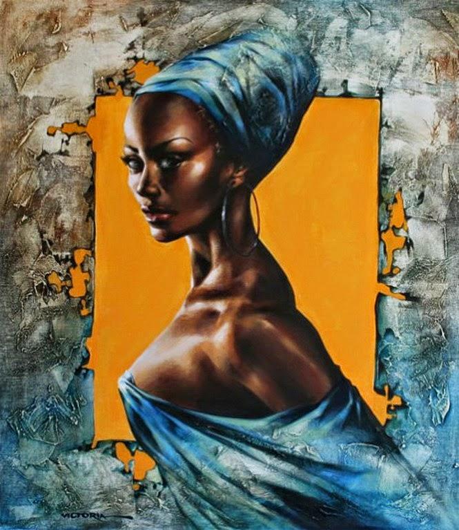 mujeres-negras-africanas-pintadas-con-oleo