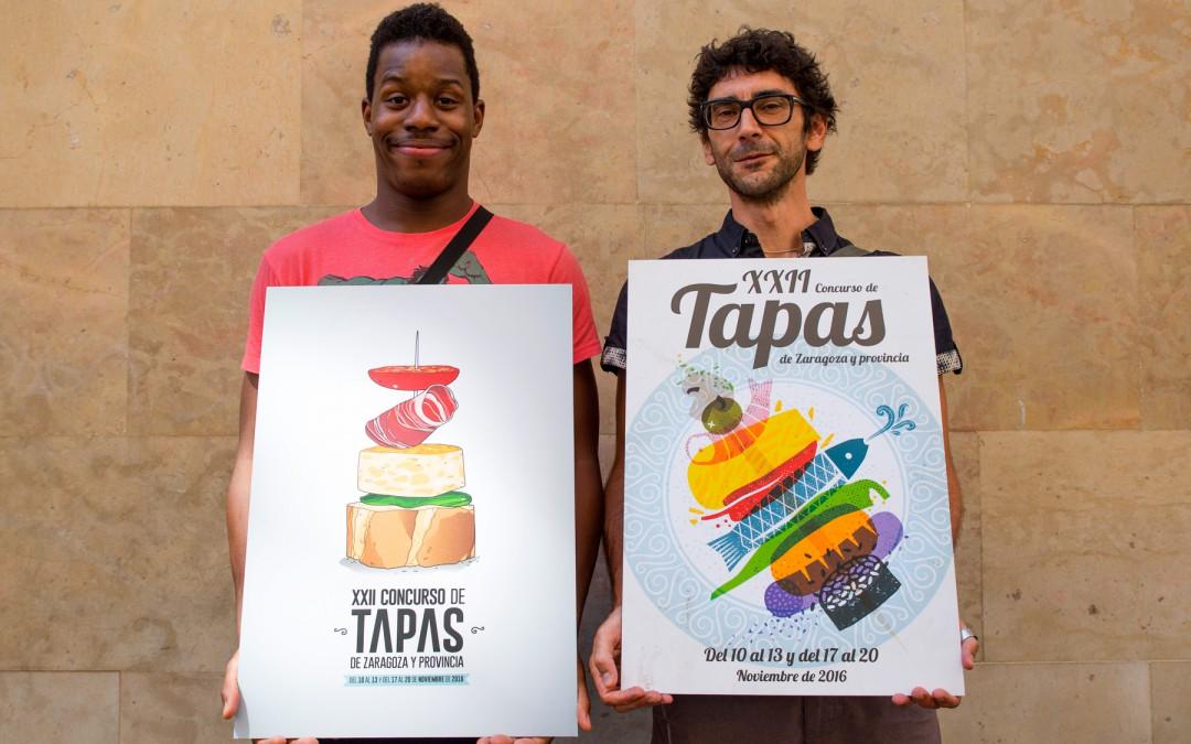 CONCURSO DE CARTELES para el CONCURSO DE TAPAS DE ZARAGOZA. Hasta el 22 de septiembre