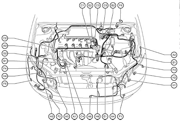 Wiring Harness For 2005 Toyota Matrix : Toyota matrix wiring diagram