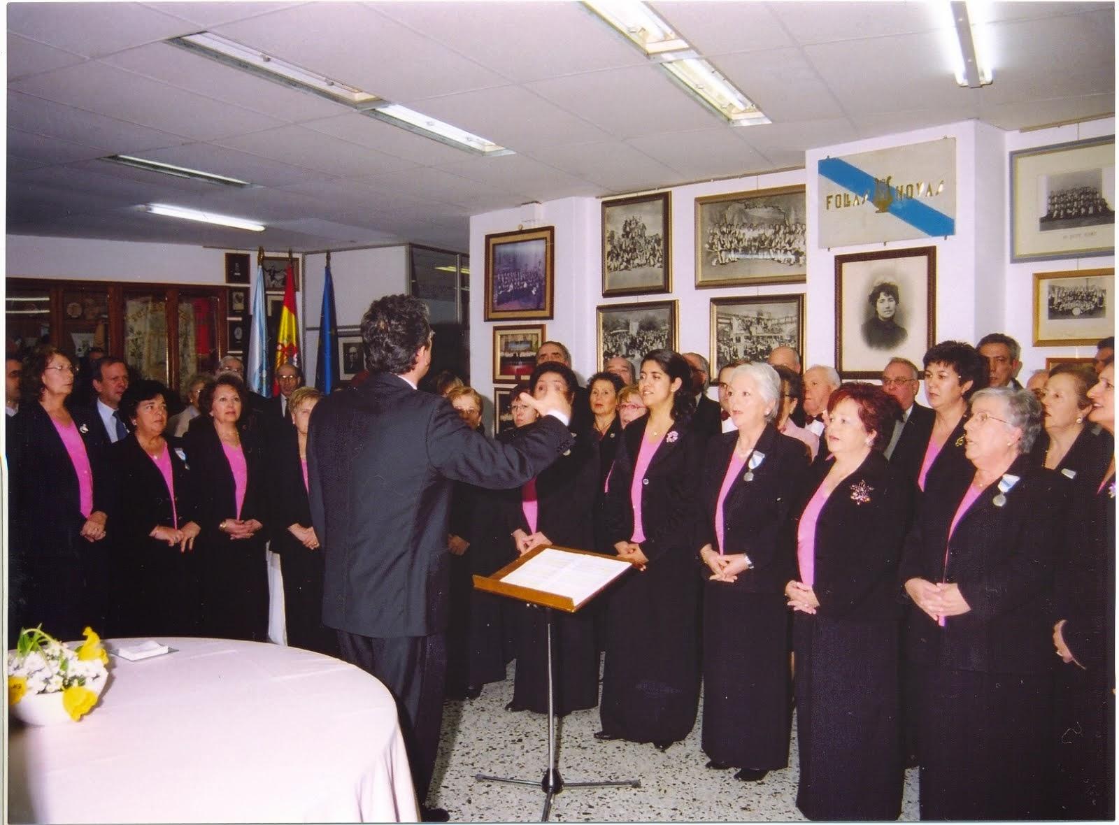 Coro Polifónico Follas Novas La Coruña