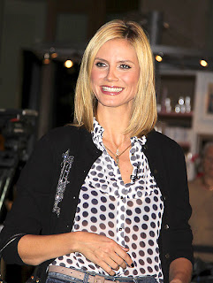 Heidi Klum Hairstyle Ideas Photo