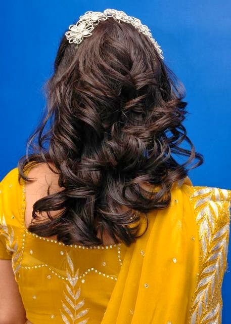 Latest Hairstyles for women 2014-15, Wedding Hairstyles for Girls ...