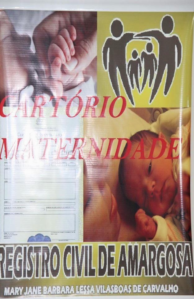 A Prefeitura Municipal de Amargosa  implanta  cartório maternidade no Hospital Municipal