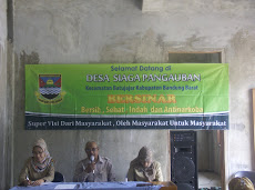Kegiatan Evaluasi Desa Siaga Sehat Jiwa