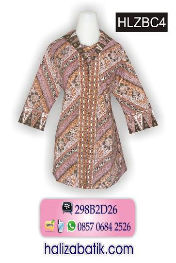 085706842526 INDOSAT, Busana Batik, Model Busana, Busana Batik Modern, HLZBC4, http://grosirbatik-pekalongan.com/Blus-hlzbc4/