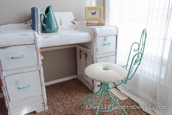 Vanity and pretty chair