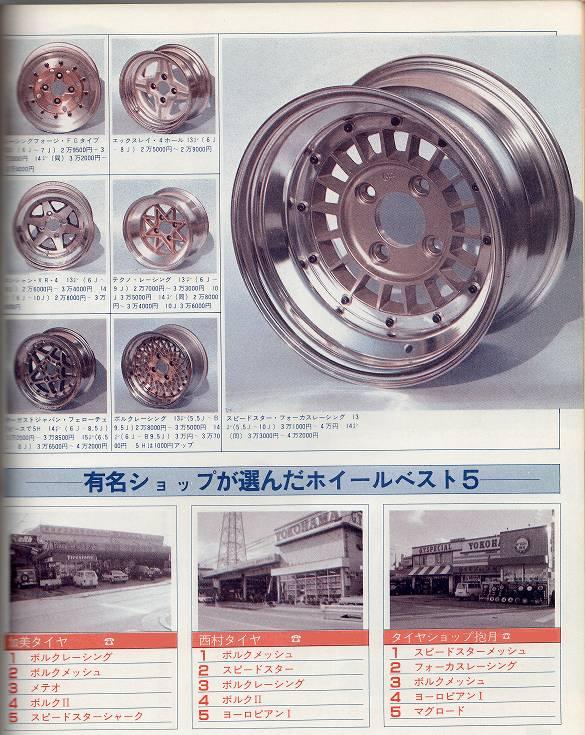 felgi, klasyczne, oldschoolowe, japońskie, oryginalne, rare, classic, rims, wheels, JDM, wzory