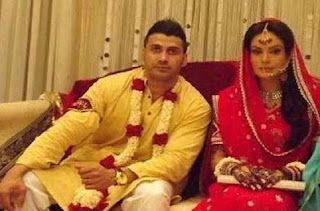 7 - Saadia Imam with Husband