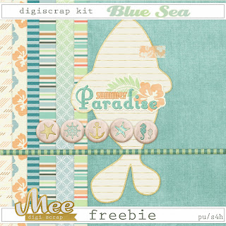 Free digi scrap Blue Sea from Mee Digi Scrap {PU}