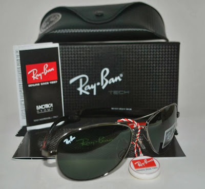 Ray Ban Malaysia Sunglasses - Ray Ban - Tech Carbon Fibre Gunmetal Frame, Dark Green G-15 Lens