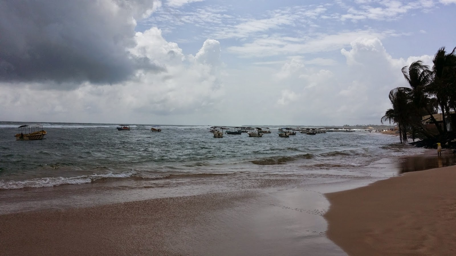 Playa de Hikkaduwa (Sri Lanka)