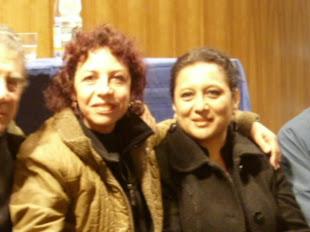 Con Teresa Calderón - poeta nacida en La Serena
