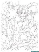 Buku Mewarnai Gratis Sakura Naruto Shippuden