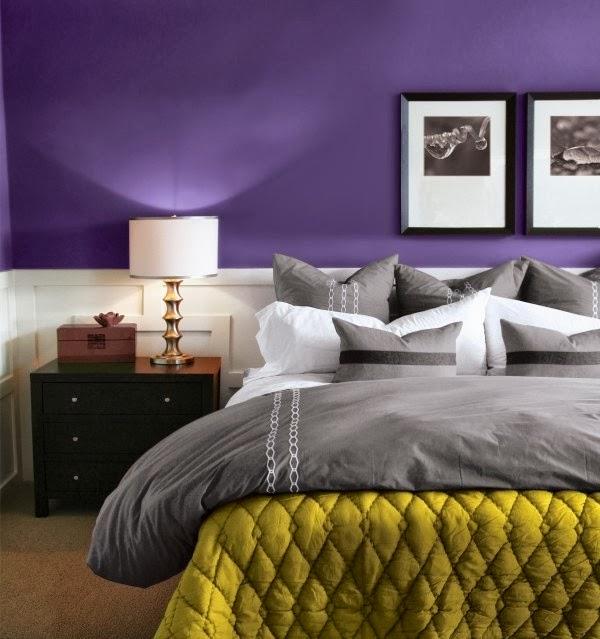 Architettarte idee per le pareti della camera da letto - Dipingere le pareti della camera da letto ...
