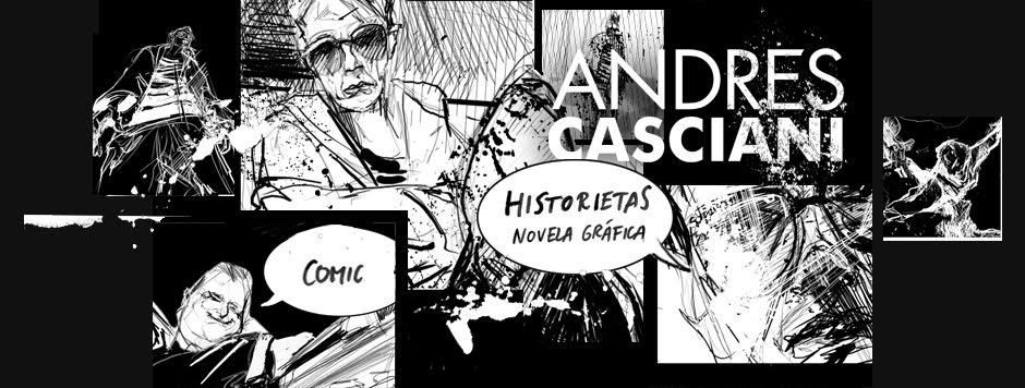 Andrés Casciani | comic e historietas