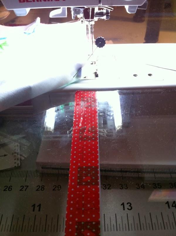 truco para conseguir un margen de costura perfecto en patchwork