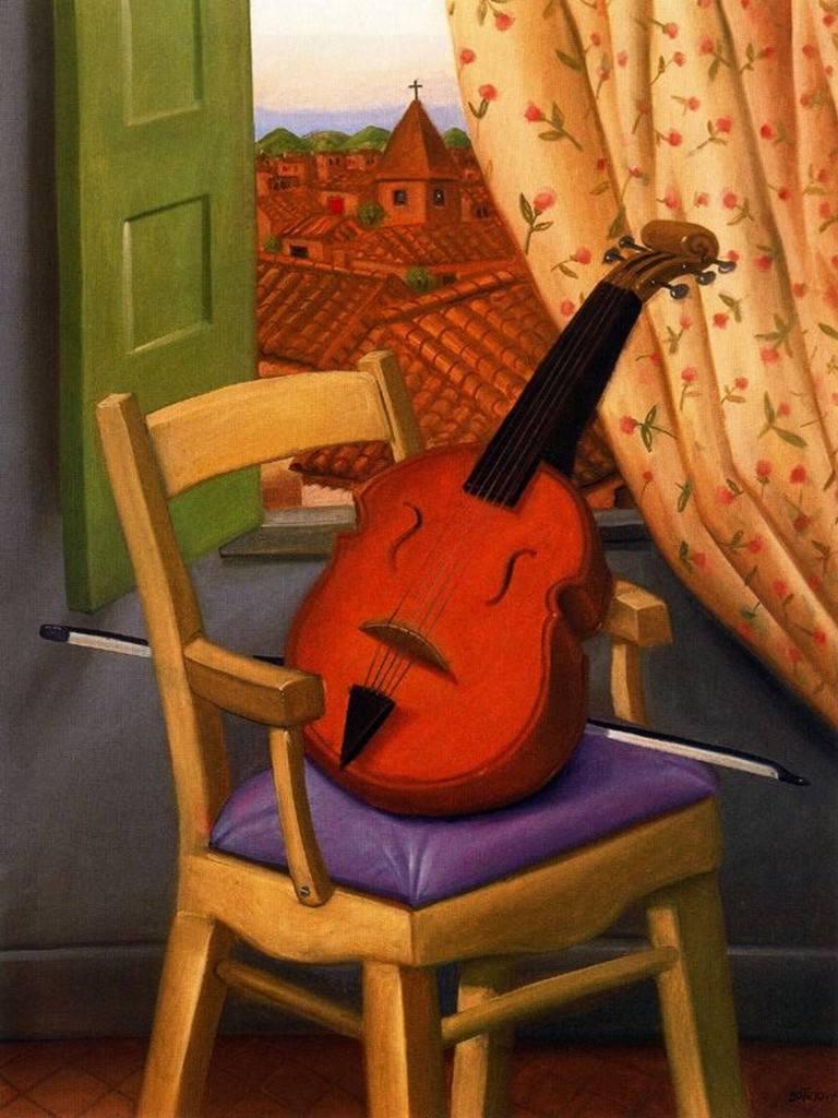Por amor al arte fernando botero - La silla de fernando ...