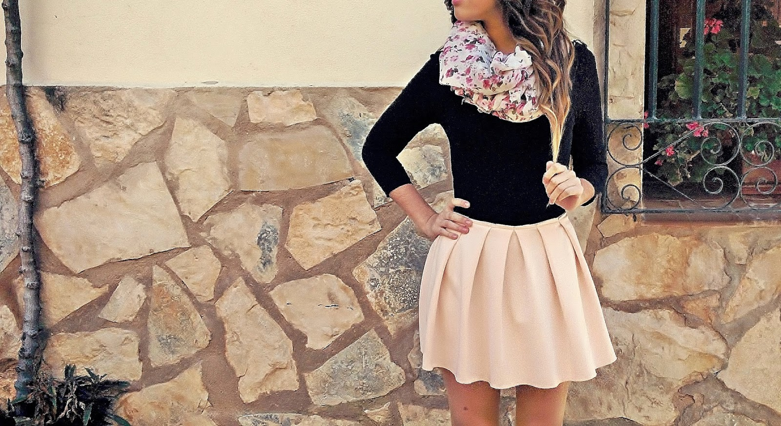OUTFIT PINK SKIRT