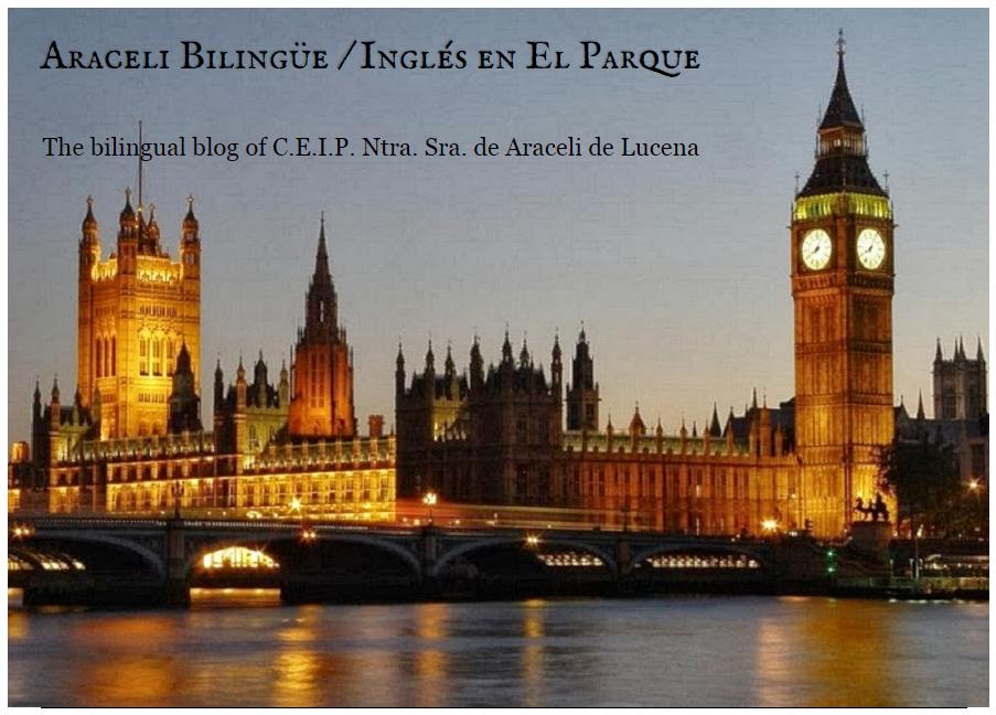 Araceli Bilingüe / El blog en inglés del cole del Parque