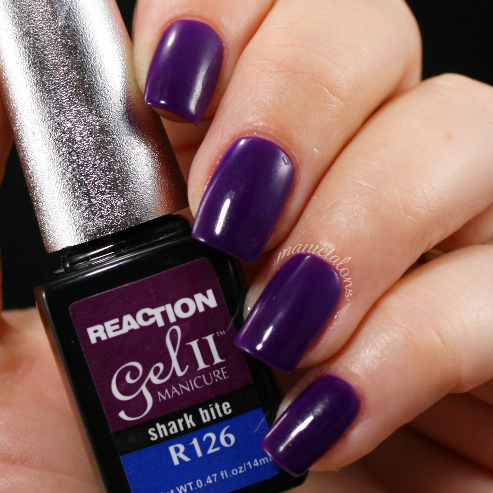 Gel II Reaction Shark Bite swtach Cold, Gel Polish