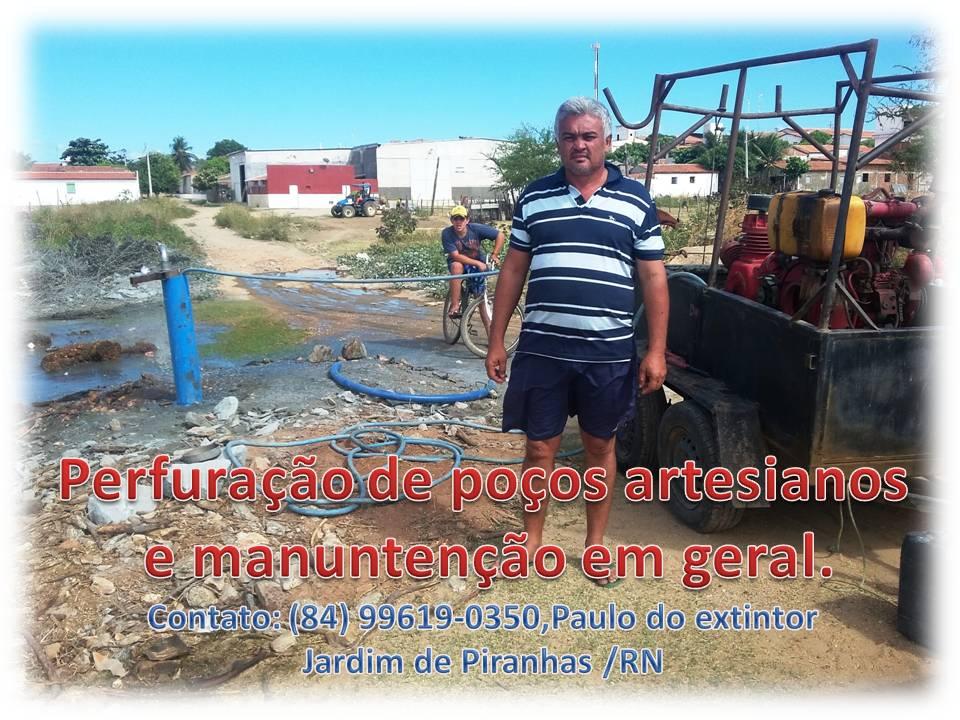 Perfuração e manuntenção de poços artesianos