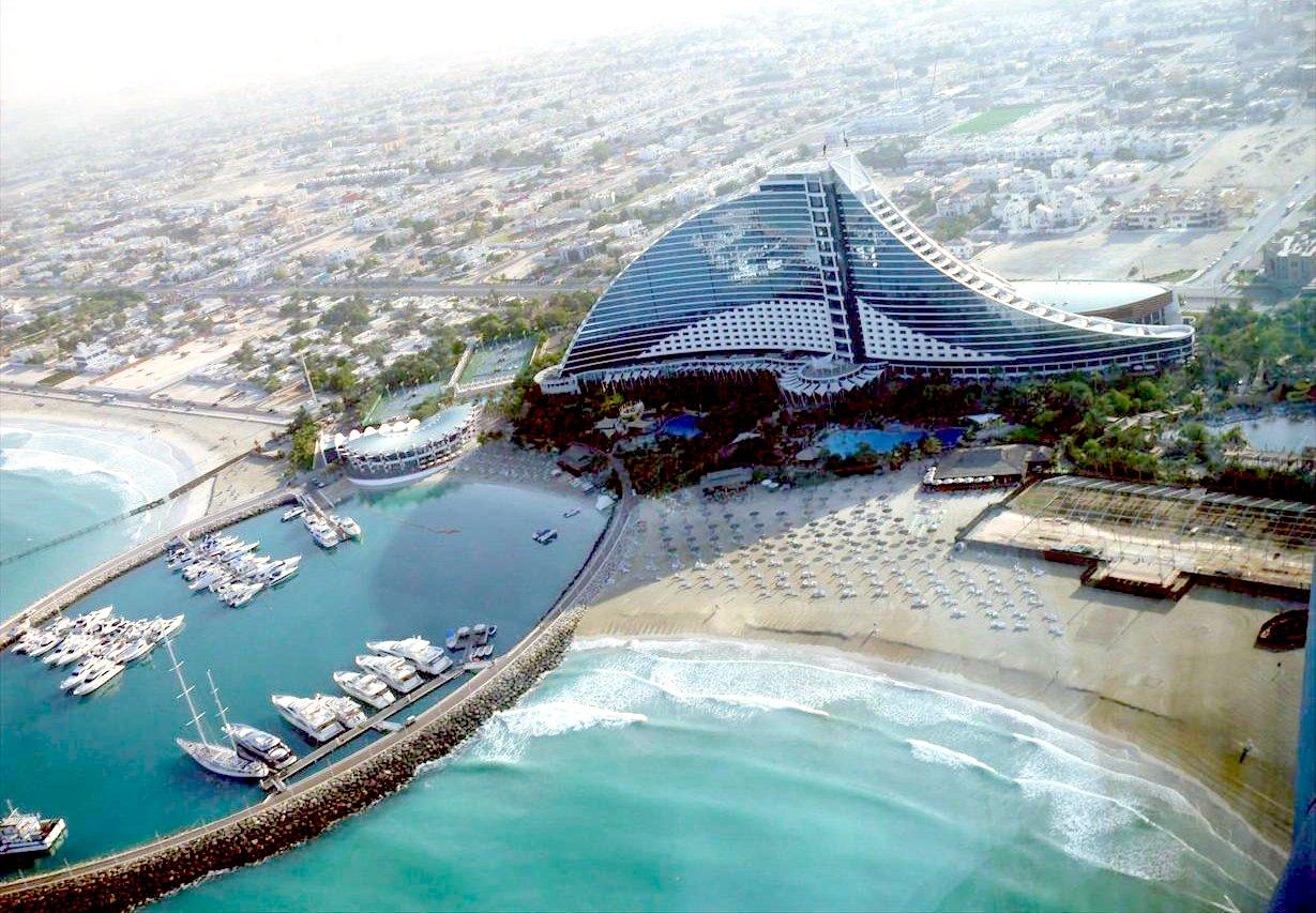 Jumeirah beach hotel dubai emirados rabes for Top 100 hotels in dubai