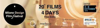 Milano Design Film Festival, al Cinema Apollo di Milano dal 3 al 6 ottobre