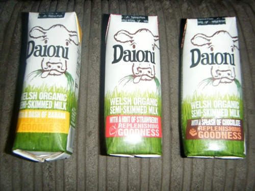 Celebrating National Milk day with Daioni flavoured milk