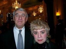 *M. Claude GOASGUEN, Ancien Ministre, Député-Maire de Paris, 16ème Arrondissement & Morgane BRAVO*