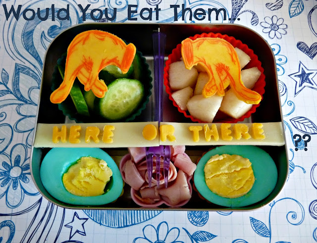 Dr Seuss Lunch Green Eggs and Ham bento