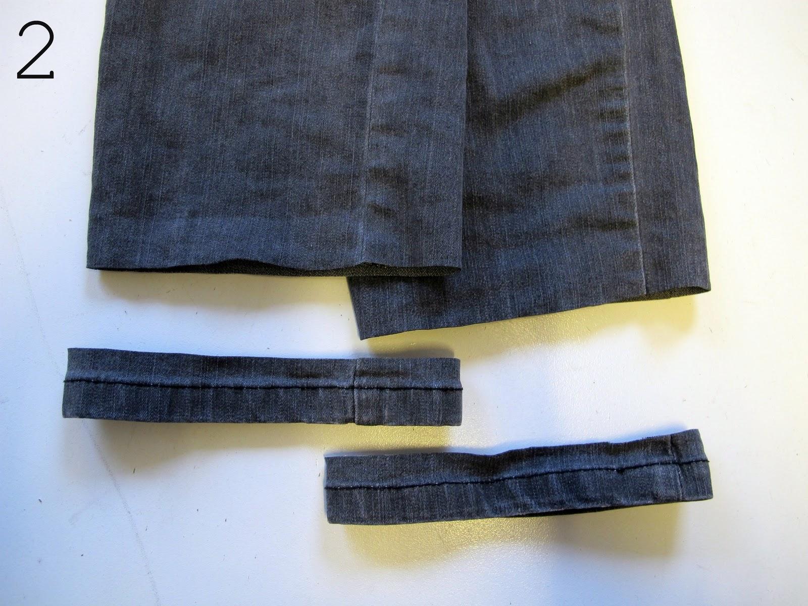 læg bukser op