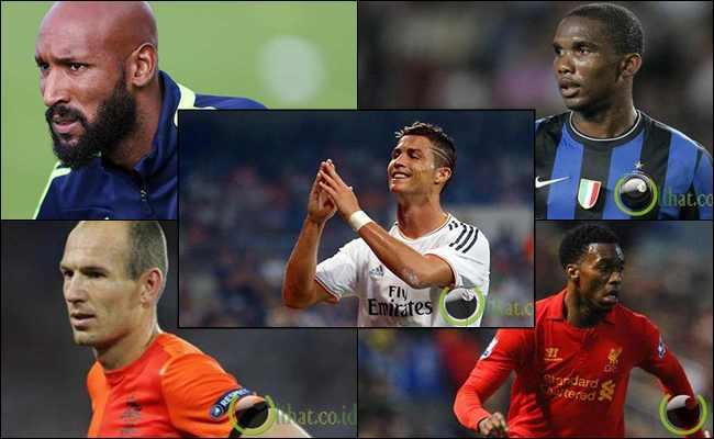 10 Pemain Sepakbola yang paling Egois di Dunia