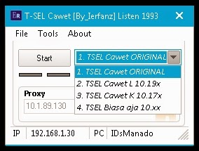 Inject Telkomsel Cawet 14 Mei 2015